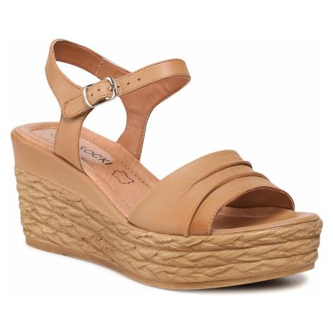 Sandały LASOCKI - WI16-2247-02 Camel