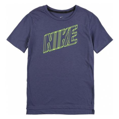 NIKE Koszulka funkcyjna ciemnofioletowy