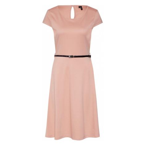 VERO MODA Sukienka różowy pudrowy