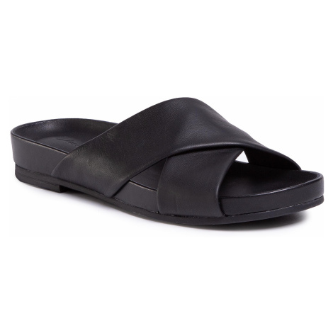 Klapki CLARKS - Pure Cross 261477504 Black Leather