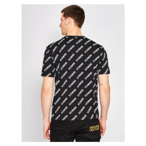 John Richmond T-Shirt Gattusy UMP20028TS Czarny Regular Fit