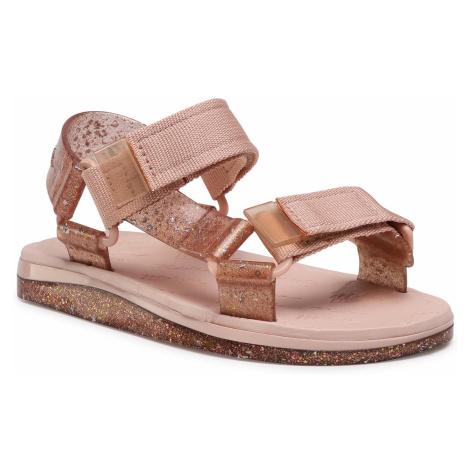Sandały MELISSA - Mini Melissa Papete + Rider In 32979 Pink/Pink Glitter 53328