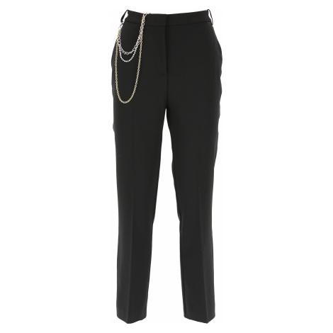 Pinko Spodnie dla Kobiet, czarny, Poliester, 2021