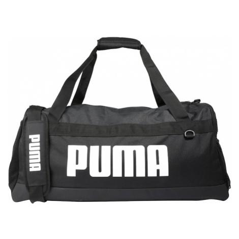 PUMA Torba sportowa 'PUMA Challenger Duffel Bag M' czarny / biały