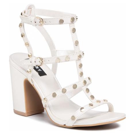 Sandały DKNY - Hanz K1063225 Pearl Tumb Lea Snow Snw