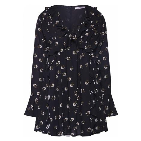 GLAMOROUS Sukienka czarny / biały