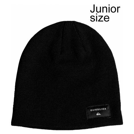 dziecięca czapka Quiksilver Cushy Slouch - KVJ0/Black