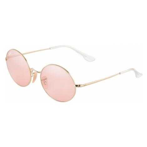 Ray-Ban Okulary przeciwsłoneczne '0RB1970' różowy pudrowy / złoty