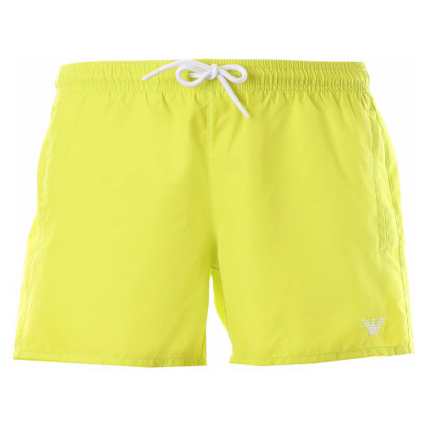 Emporio Armani Spodenki Kąpielowe i Kąpielówki dla Mężczyzn Na Wyprzedaży, fluorescencyjny żółty