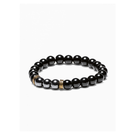 Ombre Clothing Men's bracelet with beads A202