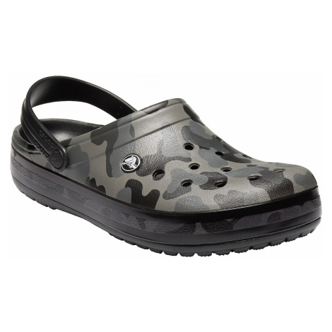 buty Crocs Crocband Seasonal Graphic Clog - Slate Gray/Black