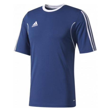 adidas SQUAD 13 JERSEY SS JR ciemnoniebieski 140 - Strój piłkarski młodzieżowy