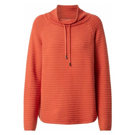 Cartoon Sweter pomarańczowo-czerwony
