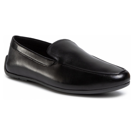 Półbuty CLARKS - Reazor Plain 261487527 Black Leather
