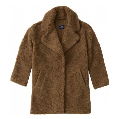 Abercrombie & Fitch Płaszcz przejściowy 'GIGI' brązowy
