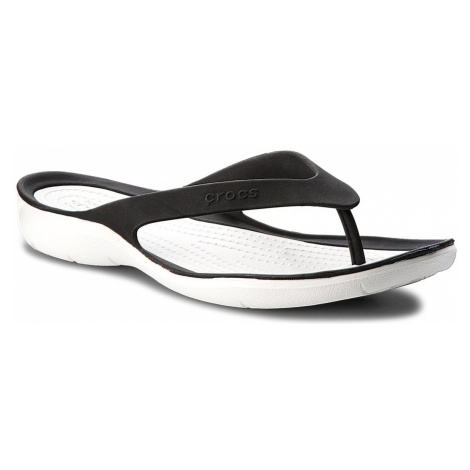 Japonki CROCS - Swiftwater Flip W 204974 Black/White