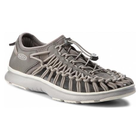 Sandały KEEN - Uneek 02 1019251 Neutral Gray/Gargoyle