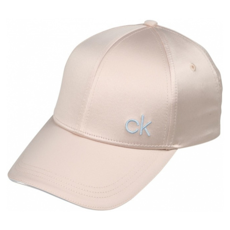 Calvin Klein Czapka z daszkiem 'SATIN PIPING CAP' pudrowy