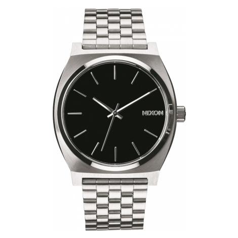 Nixon Zegarek analogowy 'Time Teller' czarny / srebrny