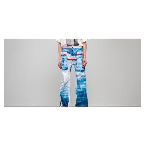 Footshop x Petra Ptáčková ZERO WASTE Wanna Go To Sea Painted Pants Blue/ White