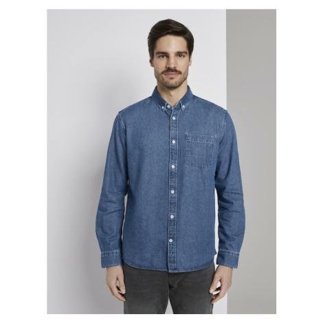 TOM TAILOR Koszula niebieski denim