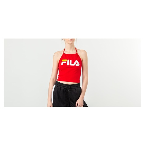 FILA Chiara Halterneck Top True Red