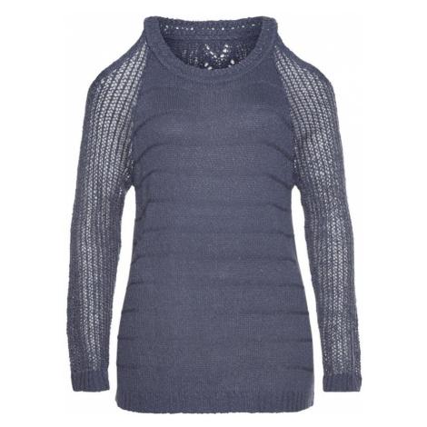 LASCANA Sweter fioletowo-niebieski