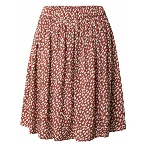 Marc O'Polo DENIM Spódnica rdzawobrązowy / biały