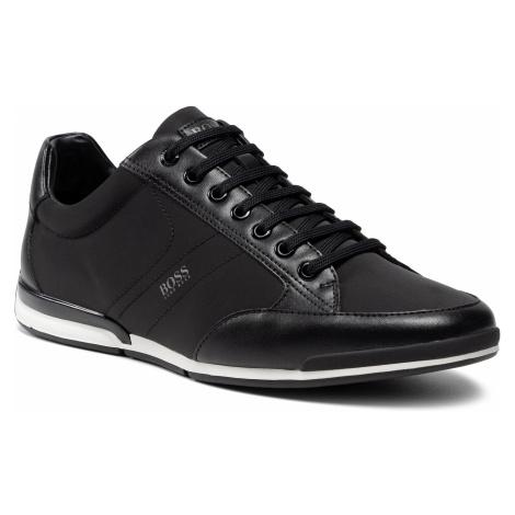 Sneakersy BOSS - Saturn 50455323 10232529 01 Black 001 Hugo Boss