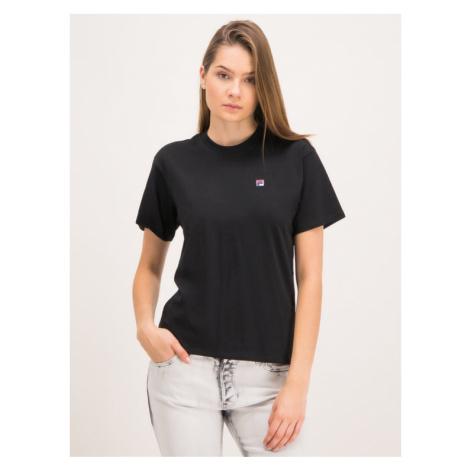 Fila T-Shirt Nova 682319 Czarny Regular Fit