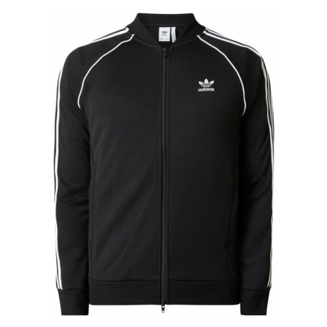 Bluza rozpinana z paskami logo Adidas