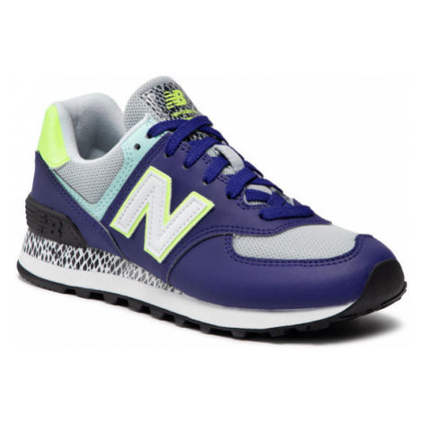 New Balance Sneakersy WL574CT2 Fioletowy