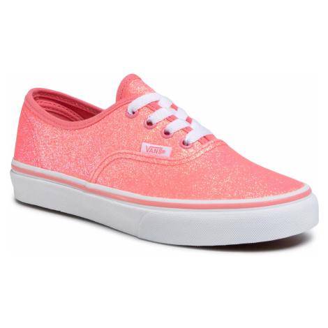 Tenisówki VANS - Authentic VN0A4UH3WHJ1 (Neon Glitter)Pink/Tr Wht