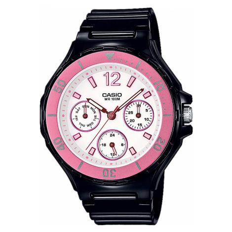 Zegarek CASIO - LRW-250H-1A3VEF Black/Pink/Black