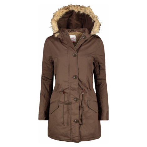 Lee Cooper Fur Lined Jacket Ladies