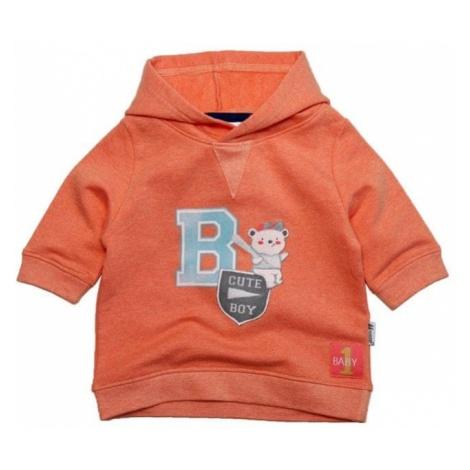 Gelati bluza chłopięca Hoody pomarańczowa
