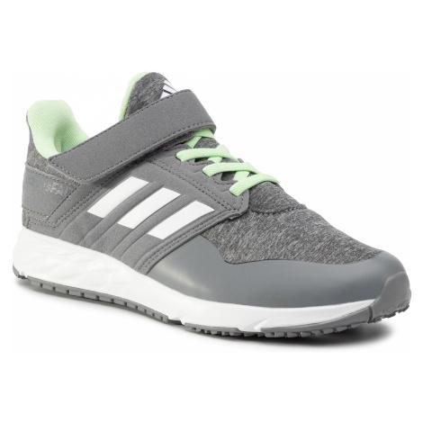 Buty adidas - FortaFaito El K EE7310 Medium Grey Heather/Cloud White/Grey