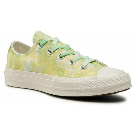 Trampki CONVERSE - Chuck 70 Ox 564298C Ligt Apid Green/Fresh Yellow