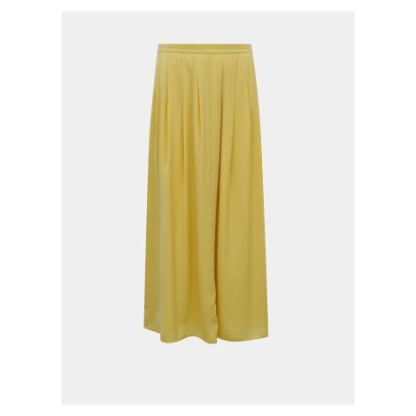 Żółta spódnica midi ONLY Sue