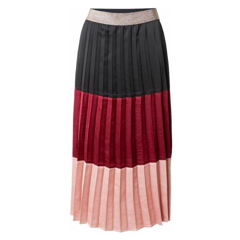 Guido Maria Kretschmer Collection Spódnica 'Dalia' brązowy / czerwony / różowy pudrowy
