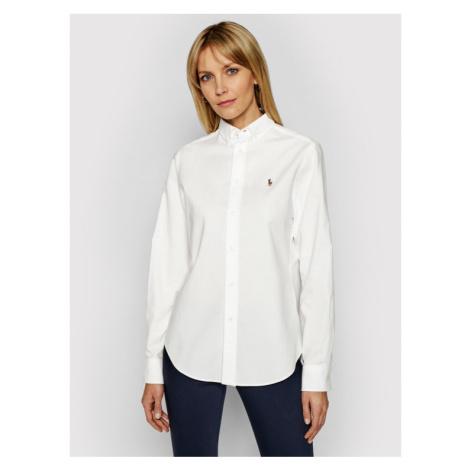 Lauren Ralph Lauren Koszula Polo Bsr 211806181003 Biały Classic Fit
