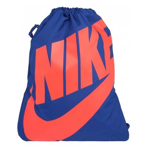 Nike Sportswear Plecak 'Heritage' niebieski / czerwony