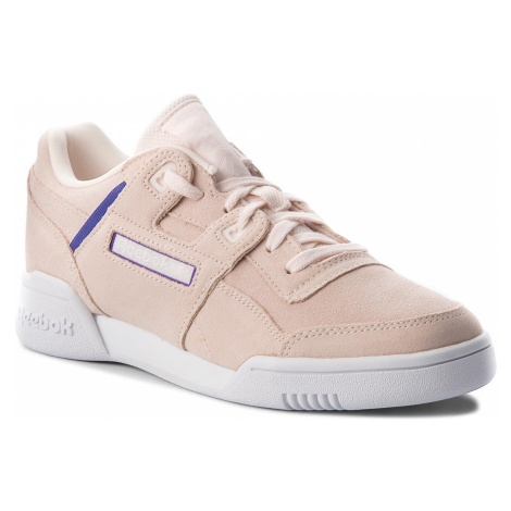 Buty Reebok - Workout Lo Plus CN5524 Pale Pink/Purple/White