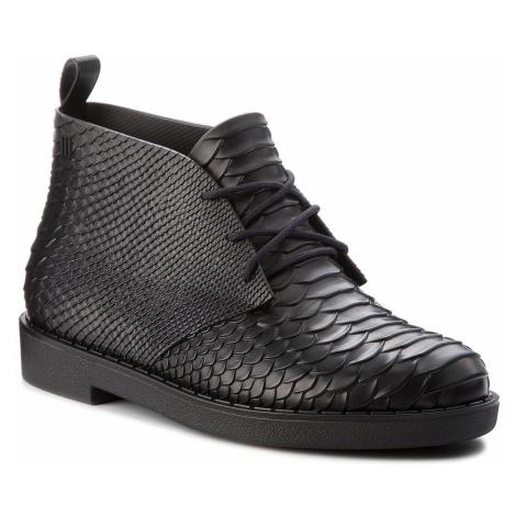 Botki MELISSA - Desert Boot Python + B 32366 Black 01003