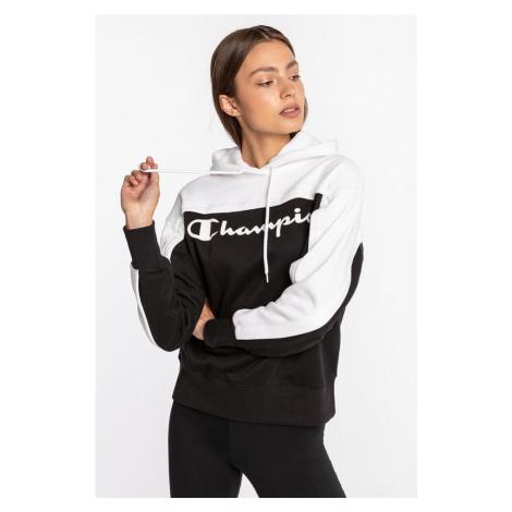 Bluza Champion Hooded Sweatshirt 249 Black / White