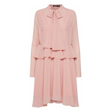 Boohoo Sukienka koszulowa różowy pudrowy