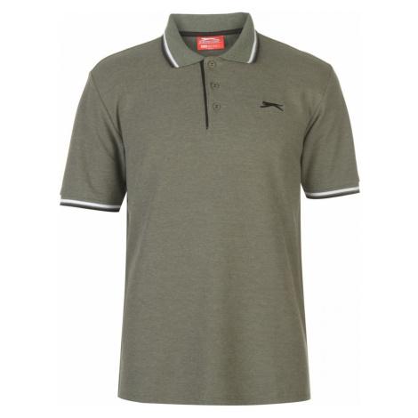 Slazenger Tipped Polo Shirt Mens