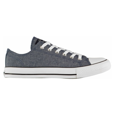 SoulCal Canvas Low Mens Trainers