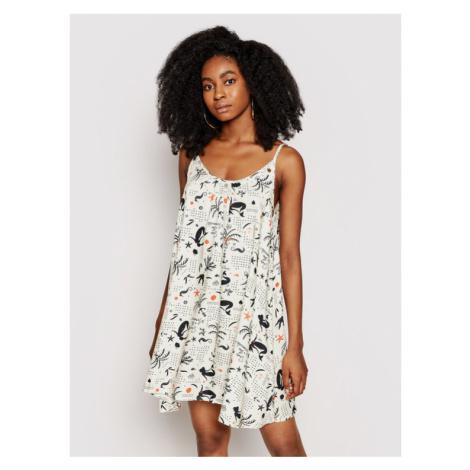 Femi Stories Sukienka letnia Naye Biały Regular Fit