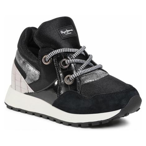 Sneakersy PEPE JEANS - PLS31085 Black 999